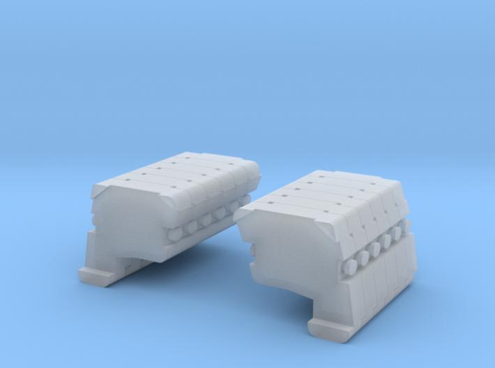 AC 500 13: Ballast 6L+R Block 3d printed