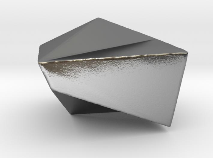 "Iceberg Pendant (smaller, melting) - ""Ode to Ice""  3d printed"