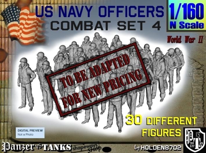 1-160 USN Officers KAPOK Set4 3d printed