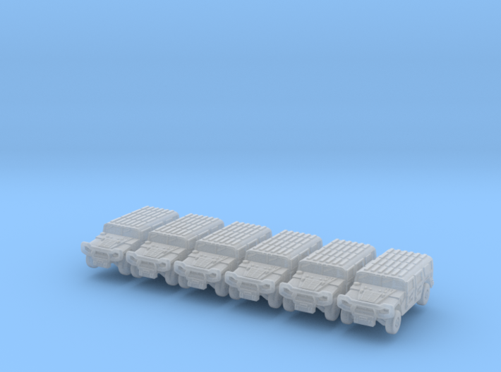 Jeep 1-350-v1 Pack 6x 3d printed