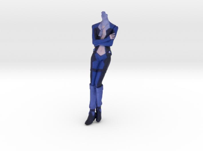 1/16 Macross Frontier Pilot Brera Body Part 3d printed