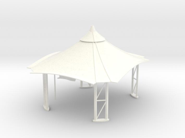 Gazebo / Tent / Stand (1:43) 3d printed
