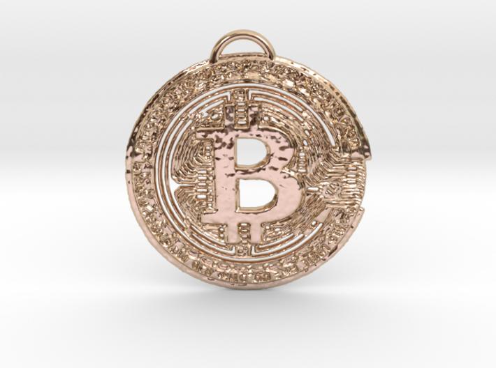 BTC BOSS Pendant 3d printed