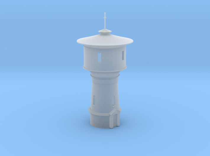 Water Tower UK Zscale 3d printed Water Tower UK Z scale