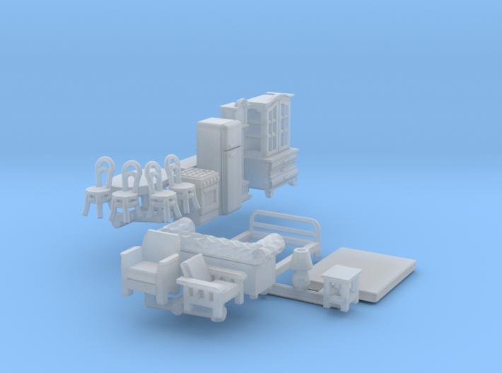 Möbel (TT 1:120) 3d printed