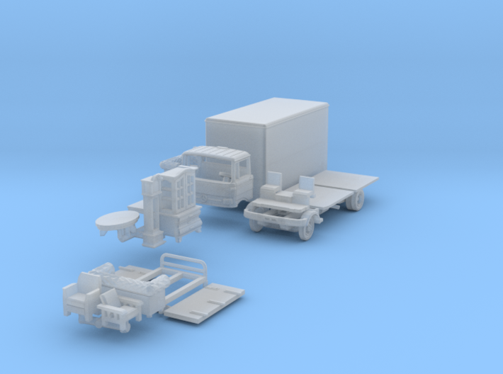 BONUS SET Möbeltransport (TT 1:120) 3d printed