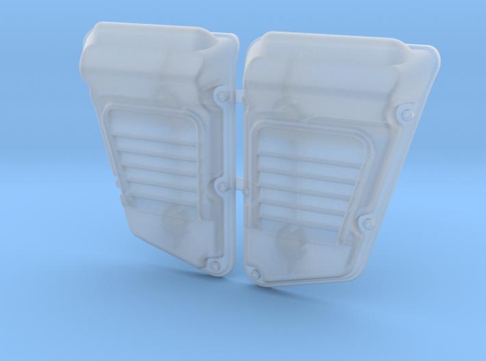 Land Rover Defender Wolf Intakes (pair) 3d printed