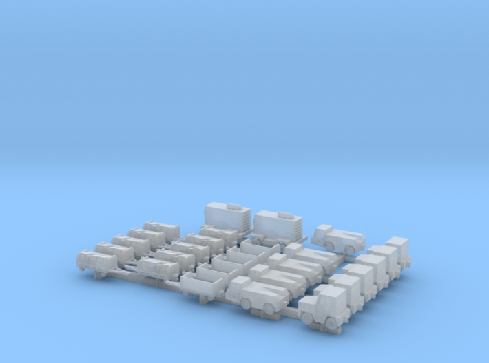 1:400 Airport Special (28pc) 3d printed
