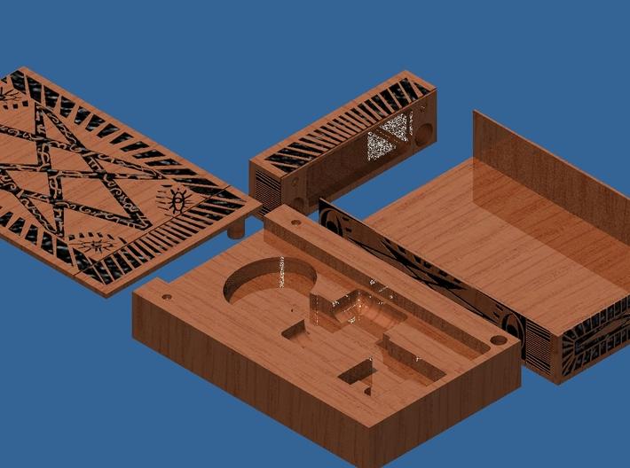 Supernatural Men Of Letters box kit. No key 3d printed