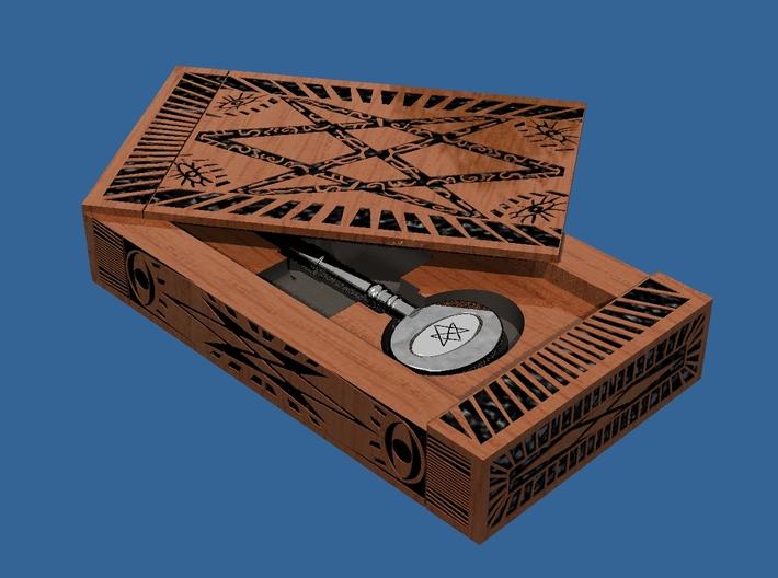 Supernatural Men Of Letters box kit. No key 3d printed key sold separately