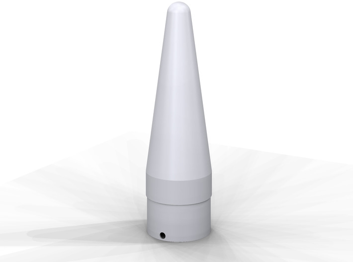 Classic estes-style nose cone BNC-55AM replacement 3d printed