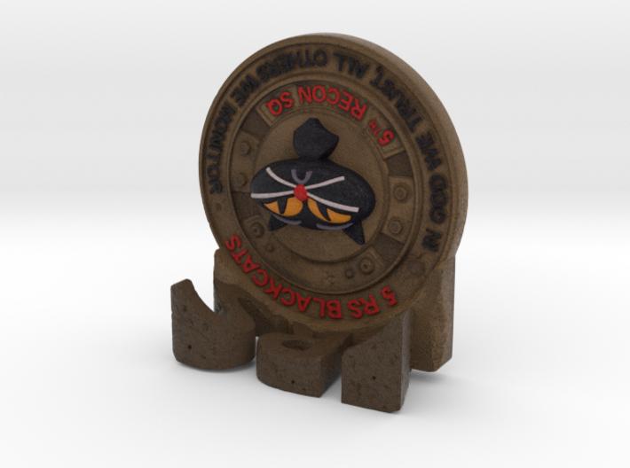 5thRS Coin 3d printed The non-useful desktop position