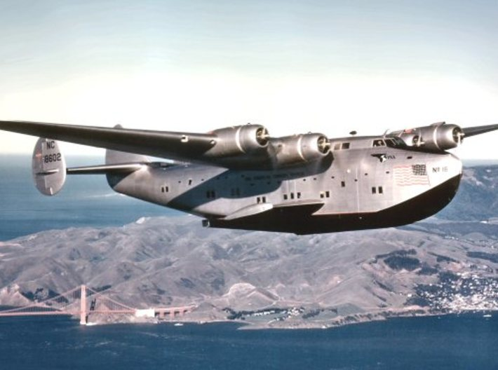 Boeing 314 Flying Boat Set 1/1250 and 1/1200 scale 3d printed photo: Boeing