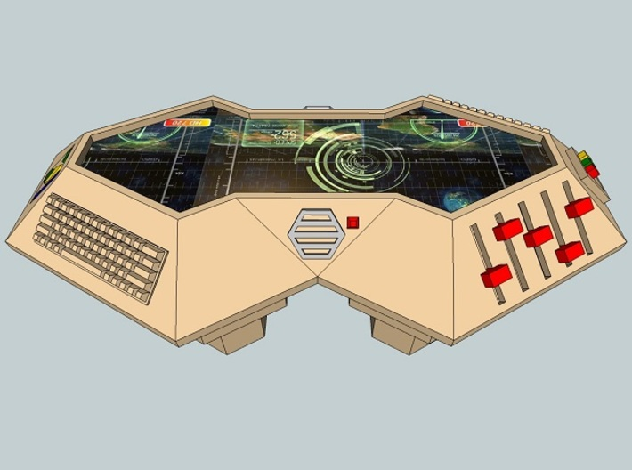 28mm CIC Plotting Table 3d printed