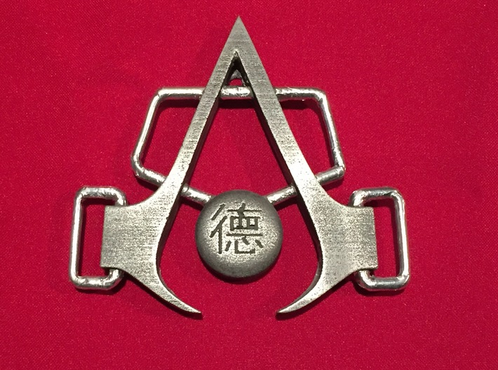 Shao Jun Buckle Assassin's Creed Chronicles- China 3d printed Cold cast of Buckle model