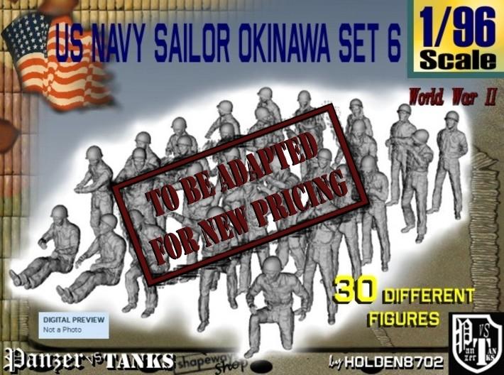 1/96 US Navy Okinawa Set 6 3d printed