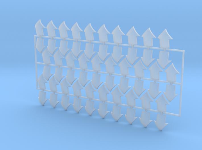 60x Base Arrow : Shoulder Insignia pack 3d printed