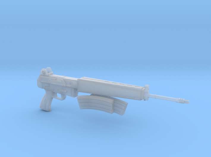 AR-18 with removeable double clip 1:4 scale 3d printed