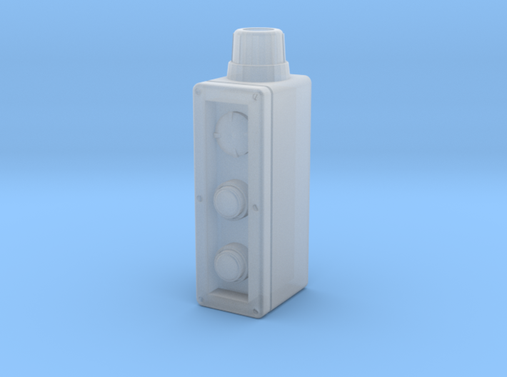 Industrial control box 1:6 scale 3d printed