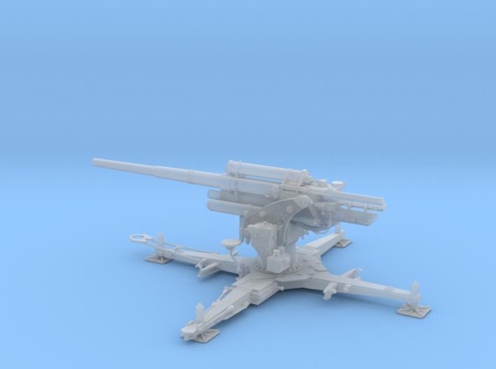 GA German WWII gun Flak 18/36 88mm 1:56 3d printed