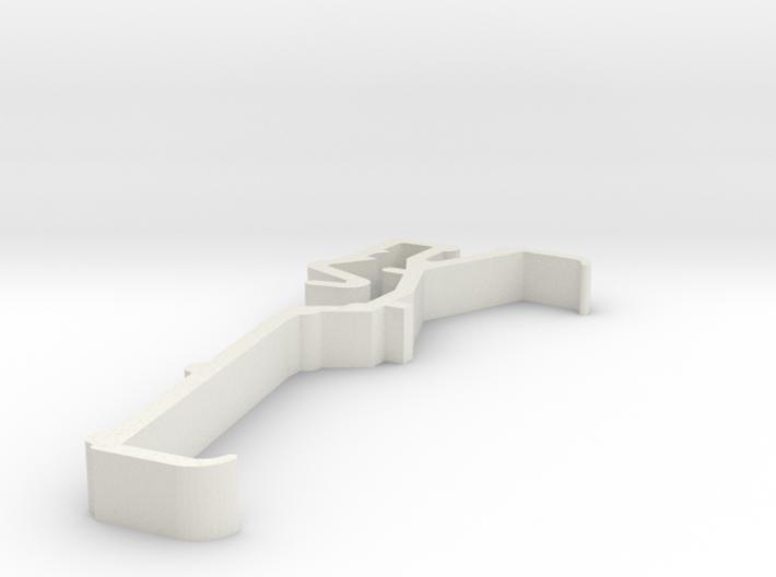 Blind Valance Clip 00151A 3d printed