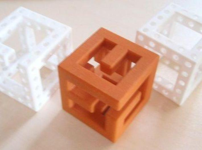 Little Maze N-Cube 3d printed parts