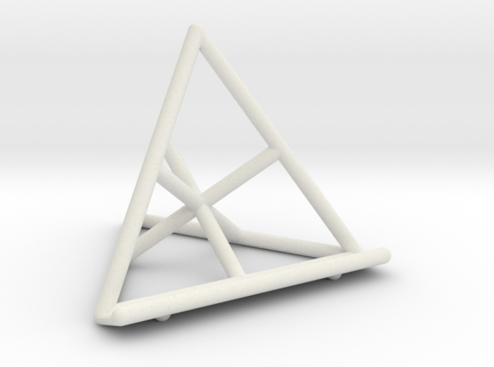 Tetrahedral Tablet Stand 3d printed