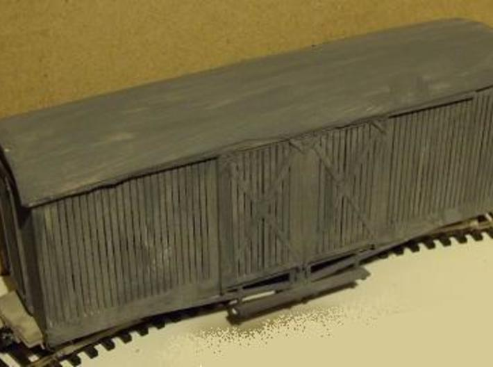 A-1-35-wdlr-d-wagon-van-body5b-plus 1/35 scale 3d printed photo shows earlier version of model, roof now included, planking extended