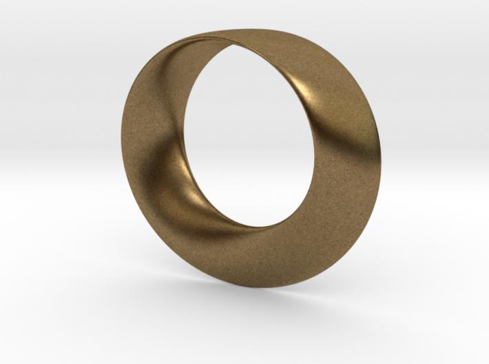 Mobius Strip Pendant 3d printed