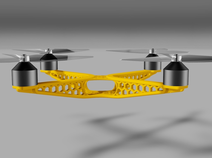 BUTTERFLY QUADCOPTER 3d printed