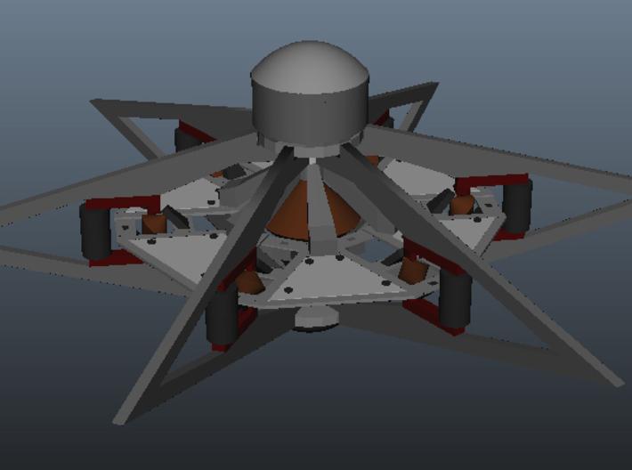 Otc Sheet1 3d printed Full render of complete model