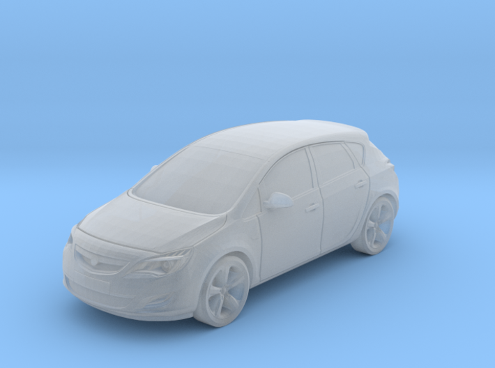 Vauxhall/Opel Astra 3d printed