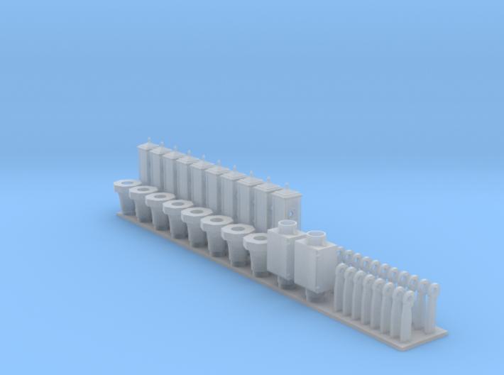 Acme Traffic Signal Kit 3d printed