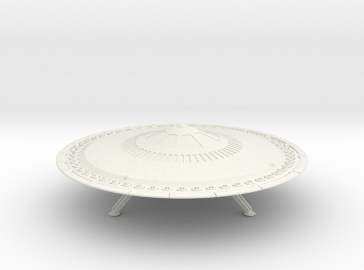 54 Electric Turbine Powered Saucer -6 3d printed