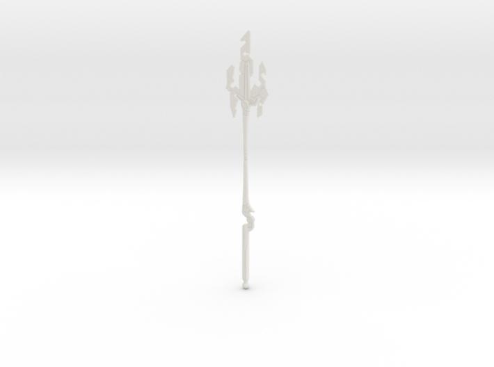 """""""BotW"""" Guardian Spear++ 3d printed"""
