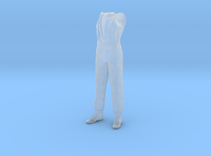 1/20 F1 Driver Standing Body 3d printed