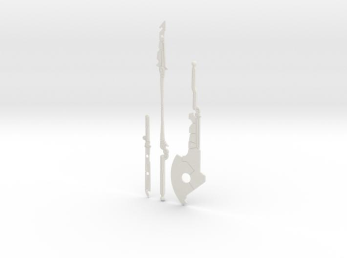 """BotW"" Guardian Weapons Set 3d printed"
