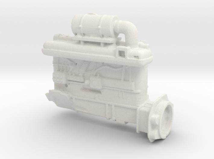 Diesel engine 3d printed
