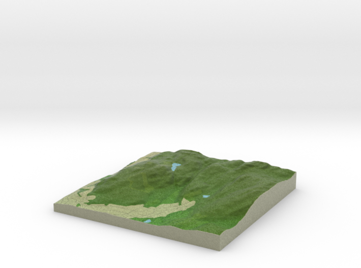 Terrafab generated model Fri Jan 20 2017 15:43:56 3d printed