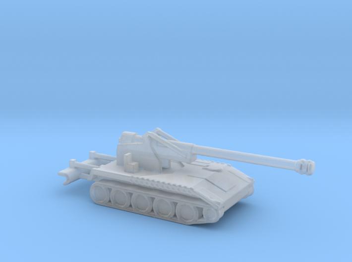 1/160 Scale M110A2 8 Inch Level Gun 3d printed
