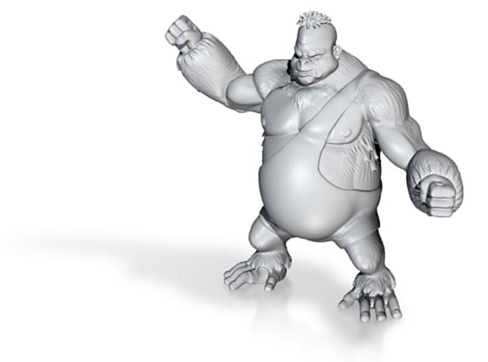 Gorilla 3d printed