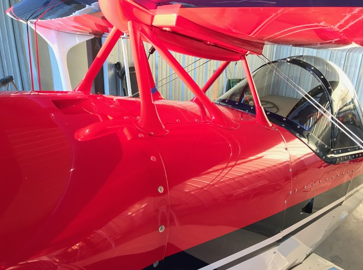 S1S-RM Cabane Fairing-A 3d printed Pitts S-1S Installation
