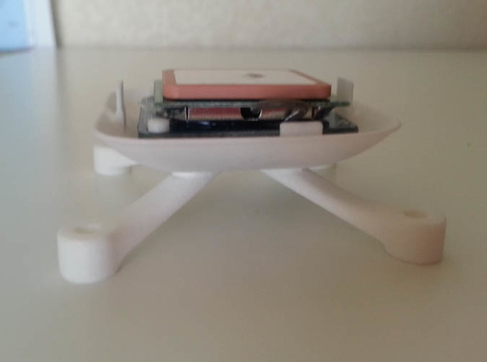 GPS Holder BASE (U Blox M6) v1.5 3d printed Add a caption...