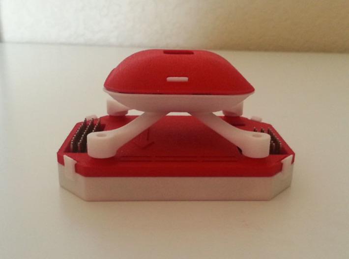 Multi Wii 2.0 Pro Case v1.5 Bottom (RTFQ) 3d printed Add a caption...