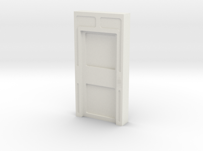 Door, Single Closed No Thrshold (Space: 1999) 1/30 3d printed