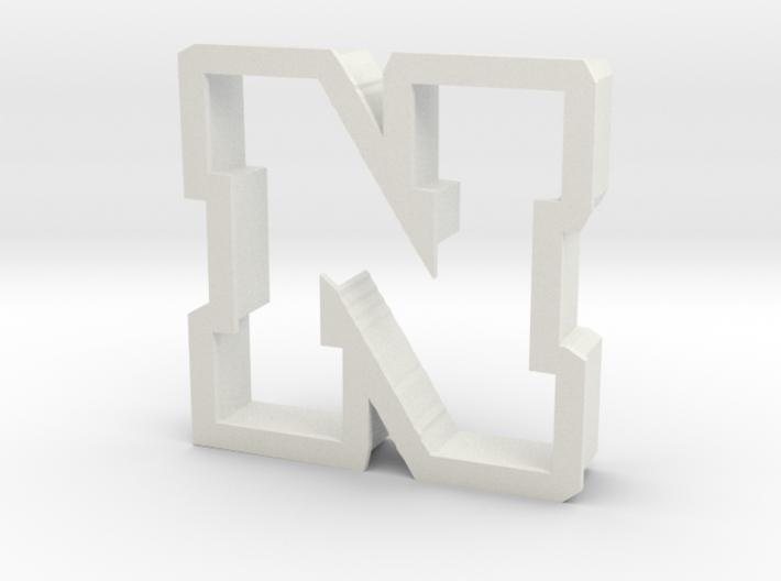 Nebraska cookie cutter 3d printed