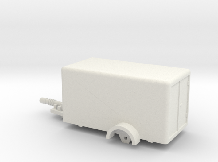 1020 Box Trailer Ho 1:87 3d printed