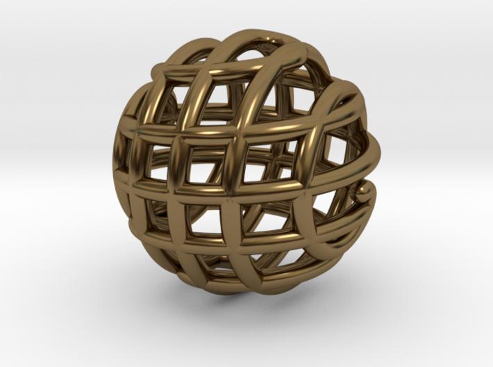 Rondure Pendant 3d printed