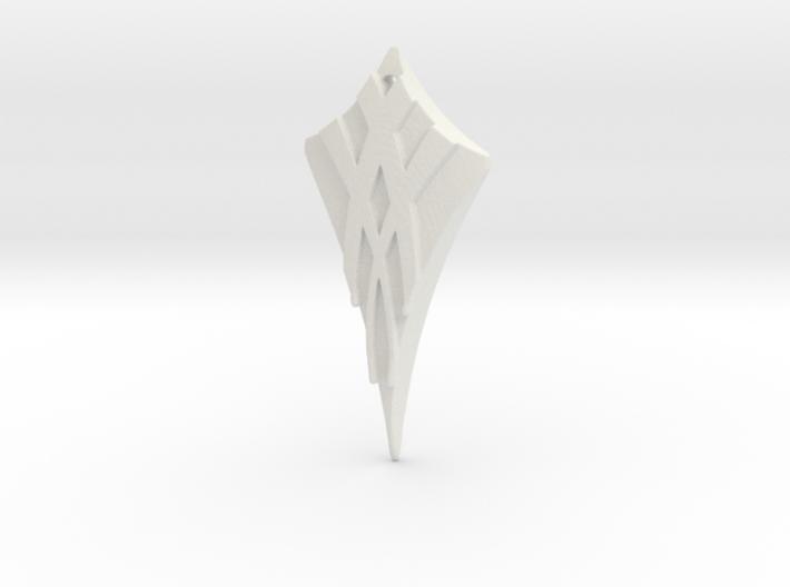 Flow Pendant 3 3d printed