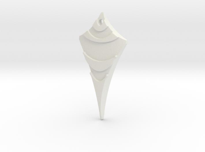 Flow Pendant 6 3d printed